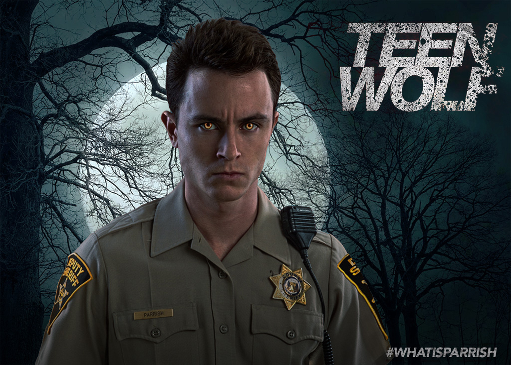 Ryan Kelley Deputy Parrish Teen Wolf