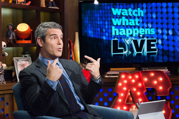 WATCH WHAT HAPPENS LIVE -- Episode 11191 - Pictured: Andy Cohen -- (Photo by: Charles Sykes/Bravo)